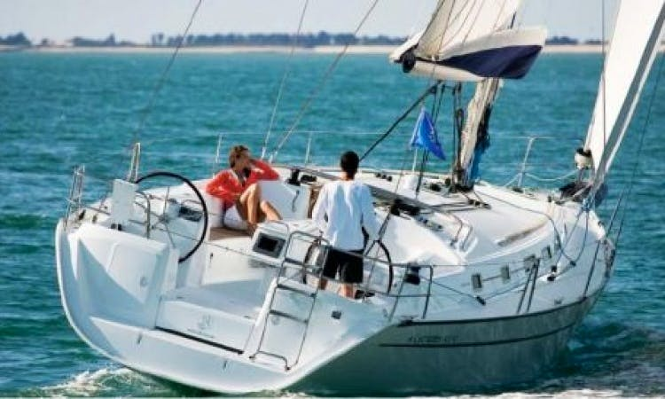 Charter This 8 People Beneteau Cyclades 43.4 Sailing Yacht in Italy