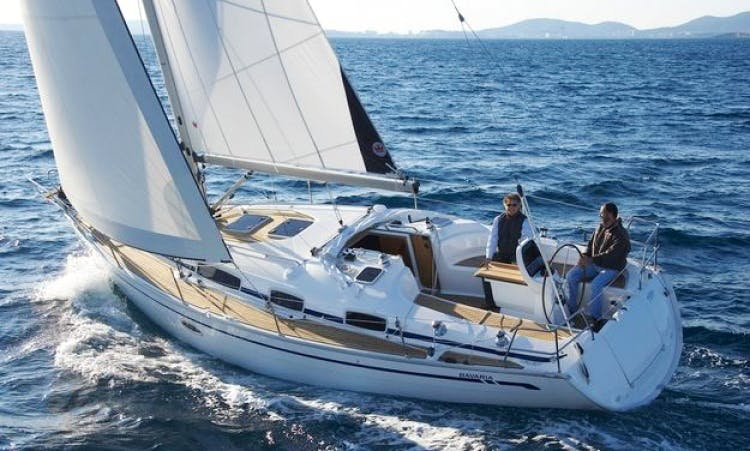 8 People 35' Bavaria Cruiser Bareboat Sailing Charter in Sweden