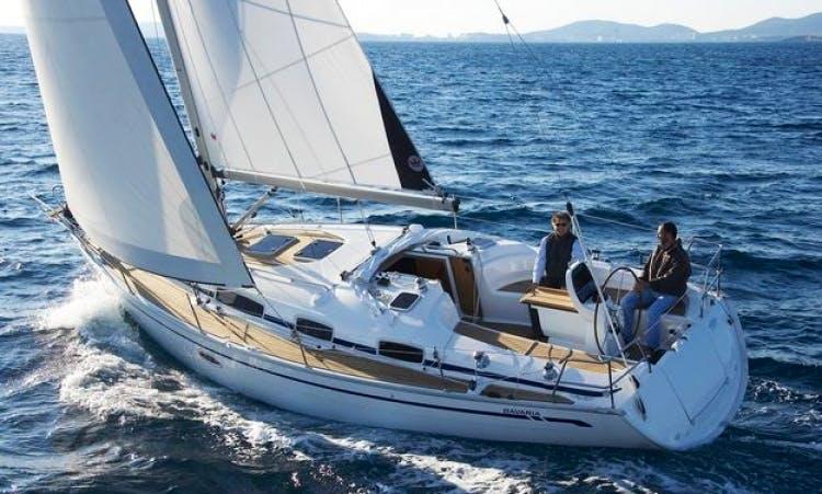 8 People 35' Bavaria Cruiser Bareboat Sailing Charter in Sweden