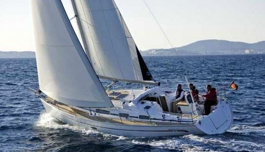 38' Bavaria Cruiser Cruising Monohull Charter In Sweden For 8 People