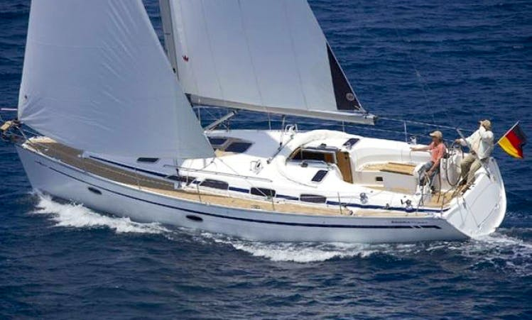 7 People 41' Bavaria Cruiser Bareboat Sailing Charter in Sweden