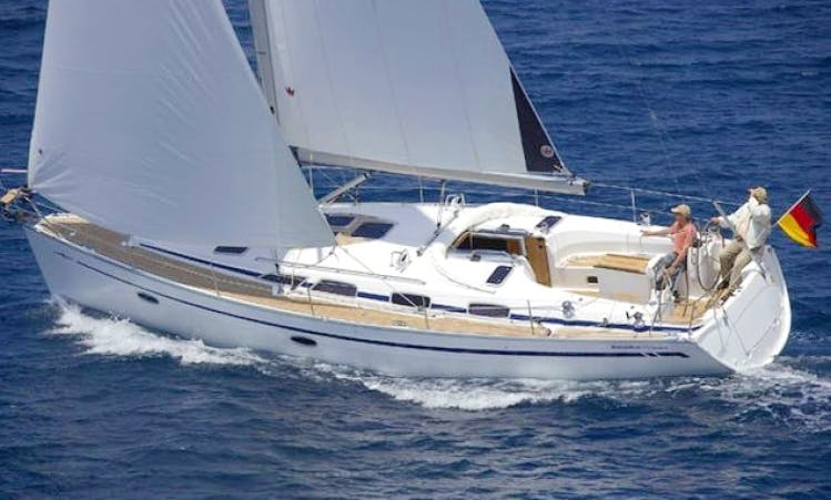 7 People 41' Bavaria Cruiser Bareboat Sailing Charter in Sweden