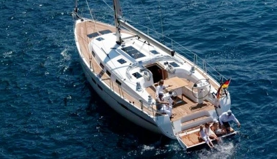 45' Bavaria Cruiser Cruising Monohull Charter In Sweden For 9 People