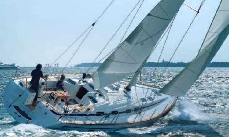 8 Persons Bavaria Cruiser 46' Sailboat Charter in Sweden