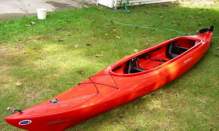 Tandem Sit In Top Recreational Kayak Ready to Rent in Shepherdstown, West Virginia