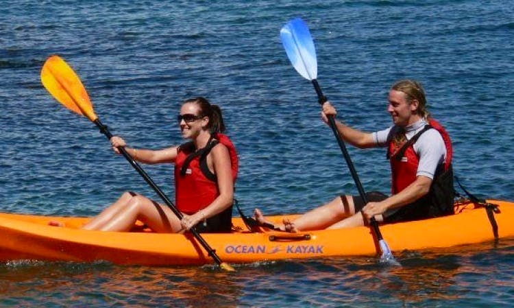 Rent a Tandem Sit on Top Kayak to Paddle Potomac River from Shepherdstown