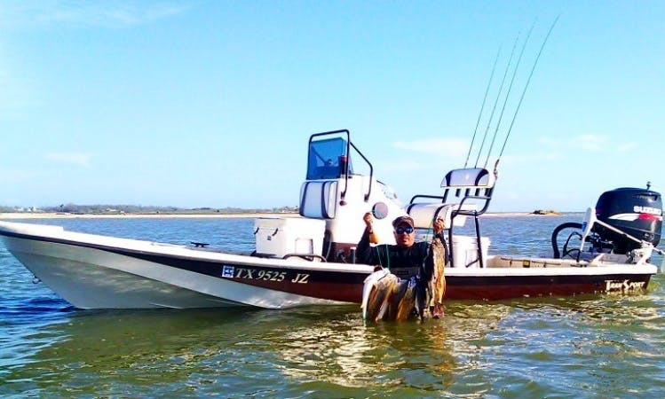 Exciting Galveston Bay Fishin'