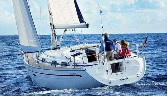 Incredible Bavaria 37 Sailing Yacht For 7 Person In Greece