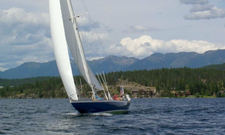 Day Charter Sail On 50' Q Class Racing Sloop In Bigfork