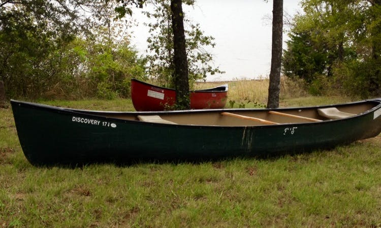 Discovery 169 Canoe for 3 Person Ready to Rental in Colleyville, Texas