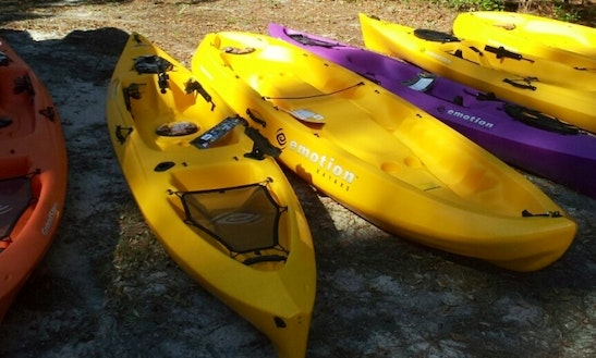Single Kayak Rental In Cedar Key Florida