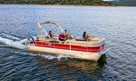 Pontoon Party Barge Rental In Hulbert