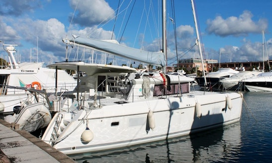 Charter A 8 Person Lagoon 421 Sailing Catamaran In Palermo