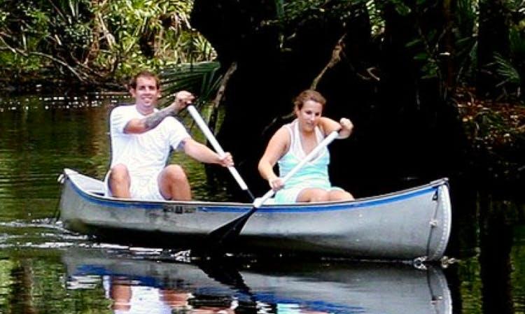 Canoe Rentals on Spruce Creek, Port Orange Florida
