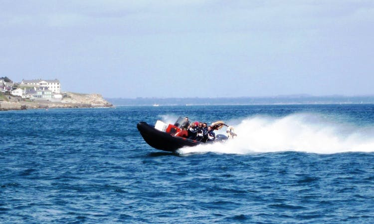 Hire a RIB on Dublin Bay