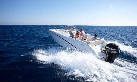Rent Quicksilver 675 Powerboat In Messina