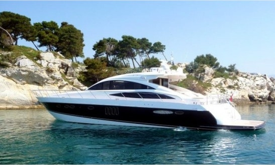 Charter Princess V70 Luxury Motor Yacht In Italy