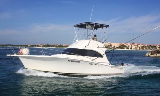 Captain Rick's 35' Sport Fishing Charter My Obsession