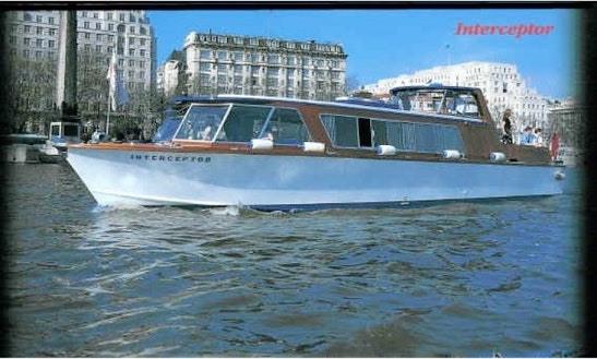 Mv Interceptor - Londons Family Sized Passenger Boat