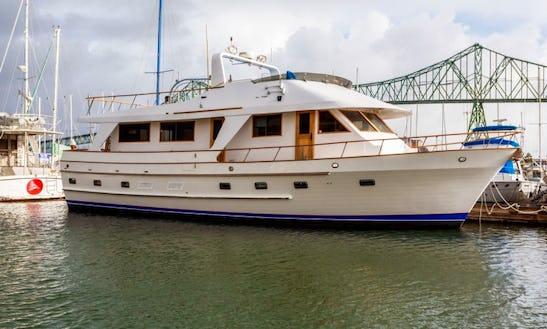 65' Motor Yacht Charter In Sitka, Alaska