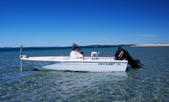 Key West 196 Bay Reef Center Console Fishing Charter For 4 People In Hervey Bay, Australia