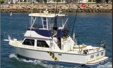 Sportfishing Charter for 6 People in San Diego County