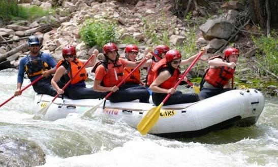 14 Ft Raft For 6-8 People In Moab Utah