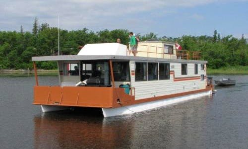 Charter a 64' Houseboat in Ontario, Canada for 12 person