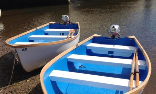 Dinghy For Hire In Warham,  England