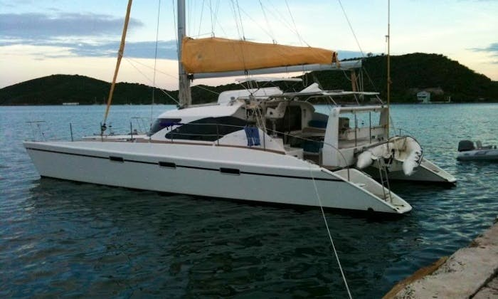 Ballotta 46' Sailing Catamaran for 6 Person in Sausalito, California