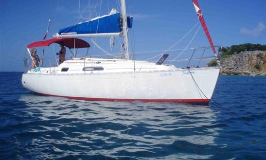 Dufour 30 Classic Sailing Yacht Charter St Martin British Virgin Islands
