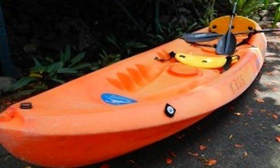 Single Ocean Kayak In Kona, Hawaii
