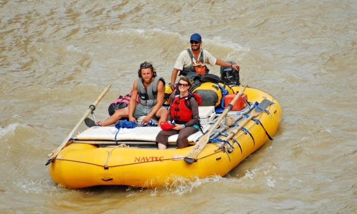 18' Motorized Raft Boat for 6 People in Moab, Utah, United States