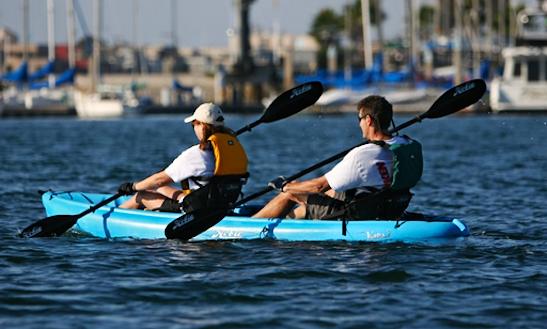 Double Hobie Kayak Rental, Courtenay, Bc