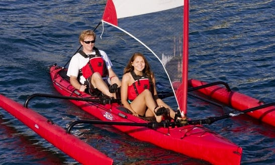 2 Person Hobie Adventure Island Kayak Rental, Courtenay, Bc