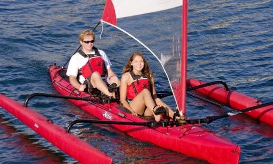 2 Person Hobie Adventure Island Kayak Rental, Courtenay, Bc