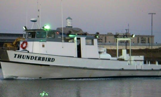"Newport, CA, 65 ft Overnight Fishing Boat ""Thunderbird"""