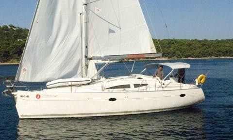 Elan 384 Impression Sailing Yacht Charter in Croatia