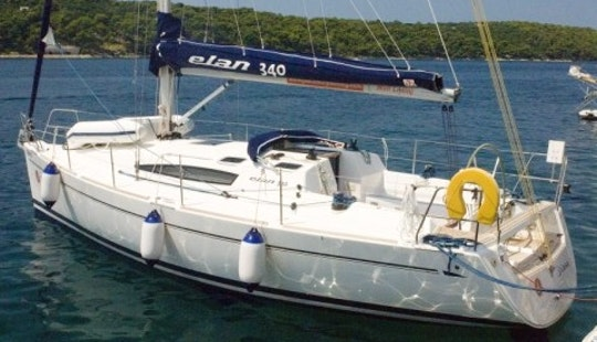 Charter Elan 340 Sailing Yacht In Croatia