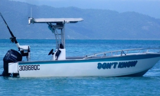Charter Vessel `dont Know` Great Barrier Reef