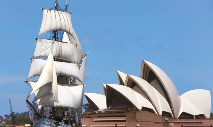 Shared Tall Ship Lunch Cruise in Sydney