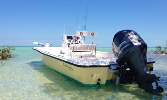 Florida Key Fishing Charter On 24' Seahunter Boat With Captain Andrew