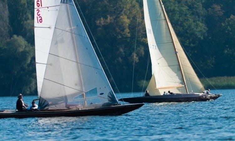 40ft Sloop Boat Rental In Berlin, Germany
