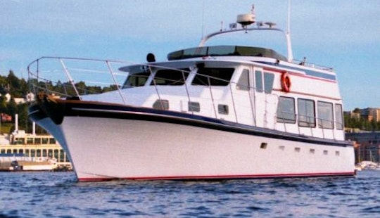 50ft Charter Yacht Seeker, Anchor Bay Charters In Seattle, Washington