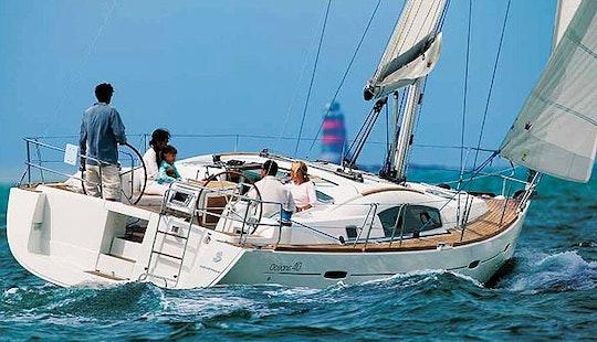 Enjoy Sailing In Muğla, Turkey On A 40' Beneteau Oceanis Yacht