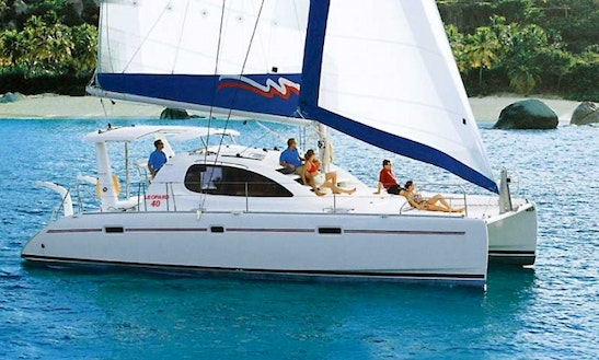 Charter Leopard 40 Catamaran In Turkey ( 4 Cabin)