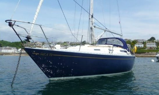 Cruising Sailboat Charter In Port Falmouth