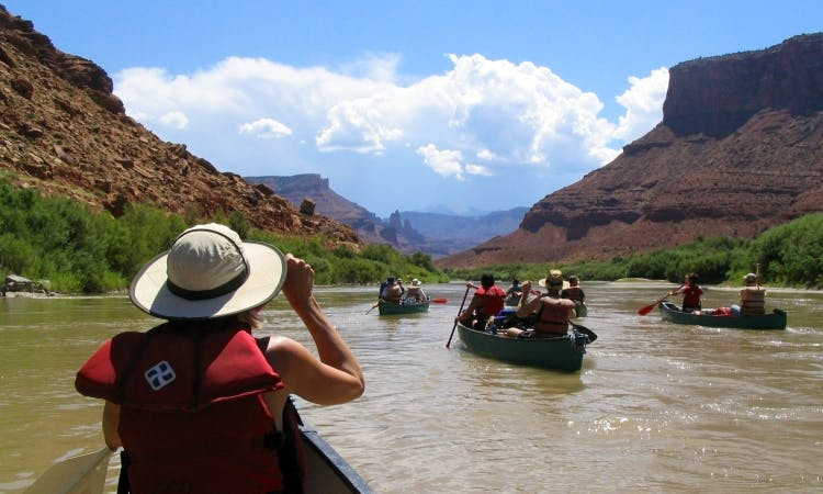 Rent Canoes for Self-Guided Multi-Day Trips in Grand Junction, Colorado