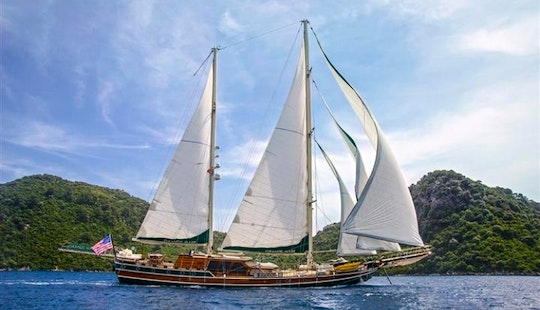 Charter Gulet Grande Mare In Turkey