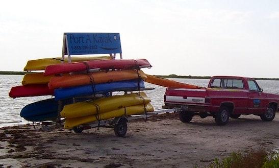 Kayak Rentals- Single & Double Kayaks Available